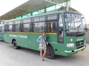 Safari Bus after Tour