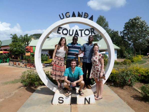 QES Scholars on the Equator!