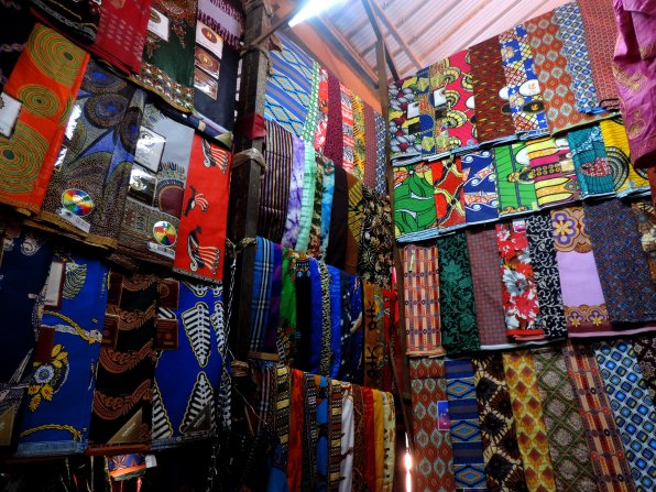 Kitenge Fabric at the Market