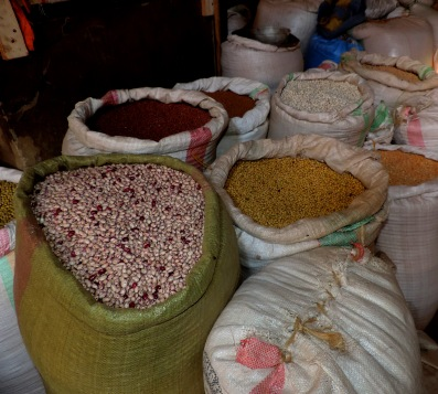 Sacks of Legumes